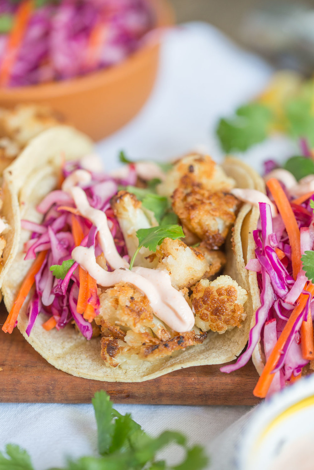 Mixed & Measured | Coconut Cauliflower Tacos