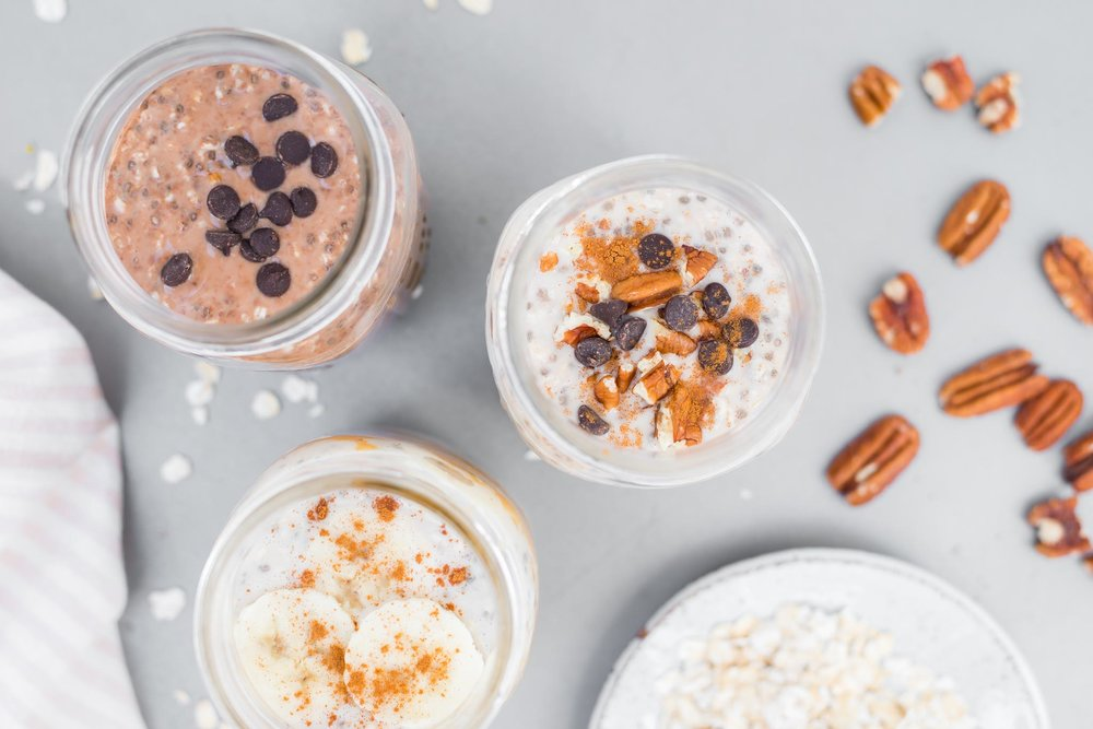 Mixed & Measured | Overnight Chia Oats