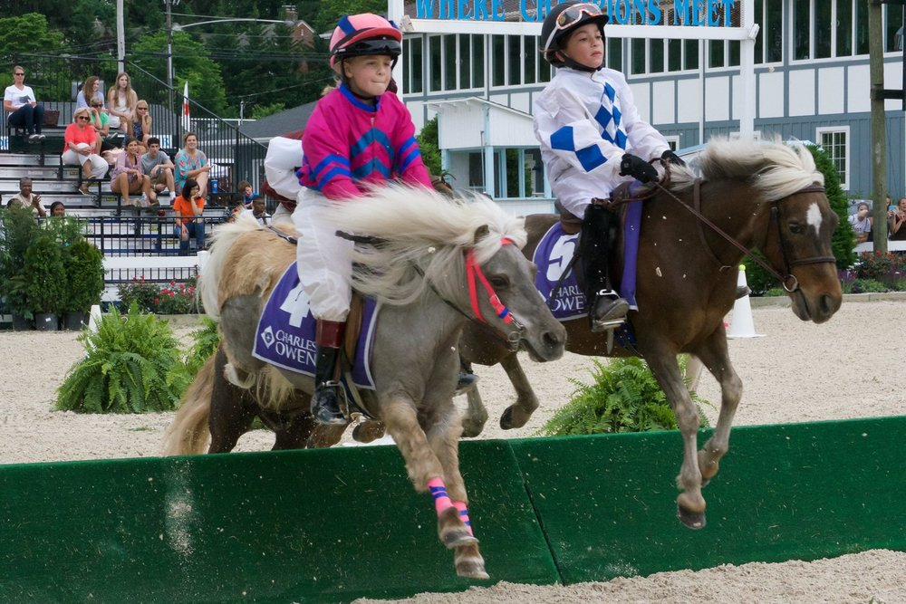 Our team had a blast at Devon and particularly enjoyed watching these future eventers and their ponies compete in the steeplechase.