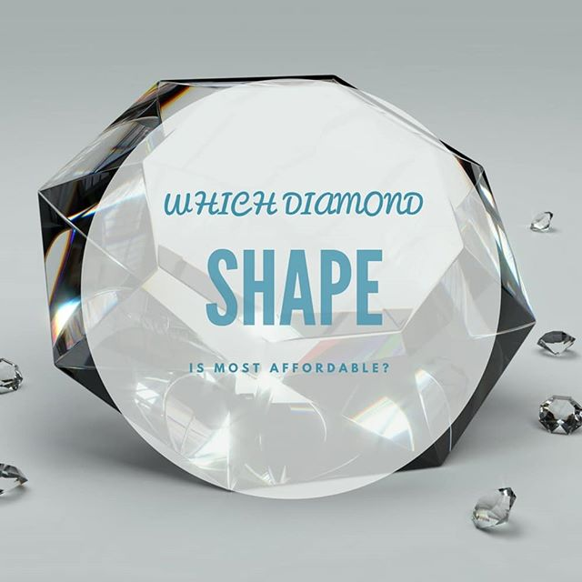 Which Diamond Shape is the Most Affordable? ⠀ Diamond prices fluctuate based on Shape. You may have heard it before that a Round Diamond is the most expensive, but we're going to show you analytically how this breaks down and how to get the best bang for your buck.⠀ ⠀ #Diamond #EngagementRing #Ring #Jewelry #Engagement #weddingring #love #wedding #theringadviser #JamesAllen #BlueNile #savemoney #Shape