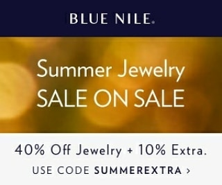 Blue Nile Summer 2018 Discount - Up to 50% off Select Jewelry⠀ ⠀ Summer is here! That means vacations, beaches and gorgeous sunset engagements! Planning your own proposal? If you act now and Blue Nile will spot you 40% off select Jewelry, plus an extra 10% by using our code. That's up to 50% off! Just use the link on this page and use the code SUMMEREXTRA and you'll get the savings.⠀ ⠀ #Diamond #EngagementRing #Ring #Jewelry #Engagement #weddingring #love #wedding #theringadviser #BlueNile #Discount #Coupon