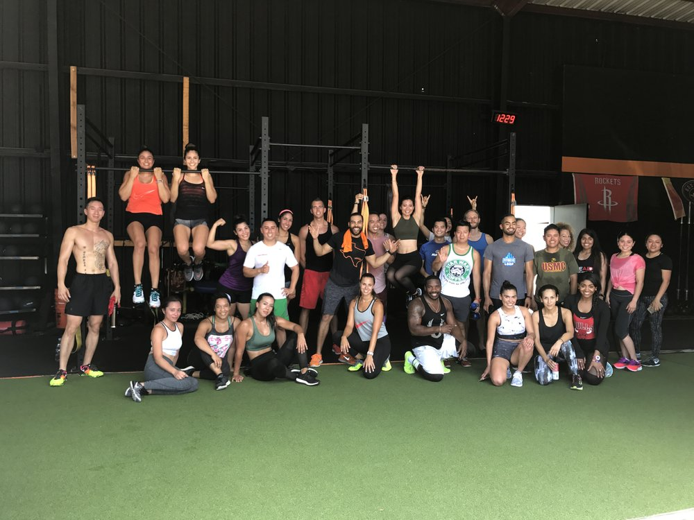 Fit fam!!!! Thank you all for coming out!!!