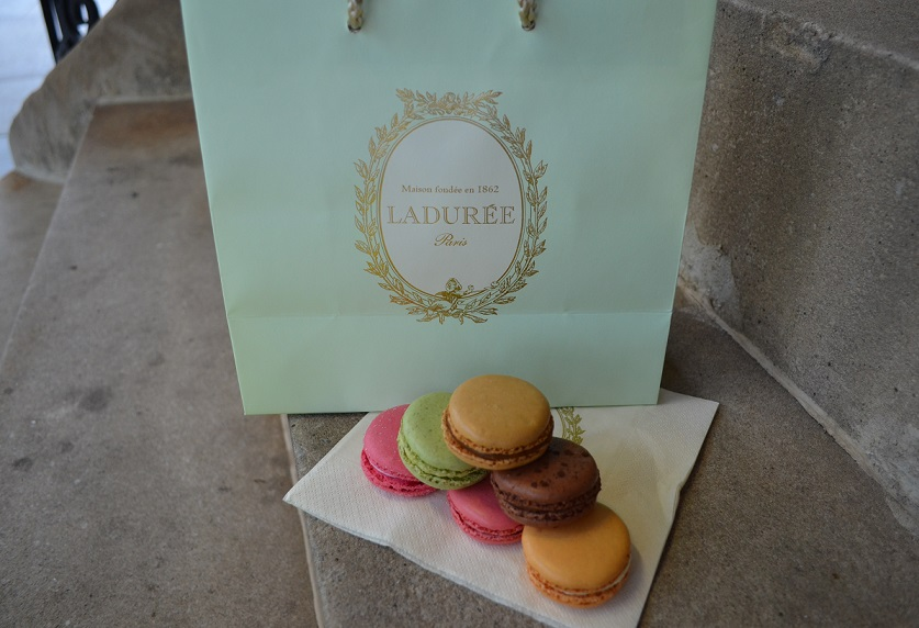 Gone in 60 seconds! The best macarons ever straight from France! My favorite flavor was caramel with salted butter. :)