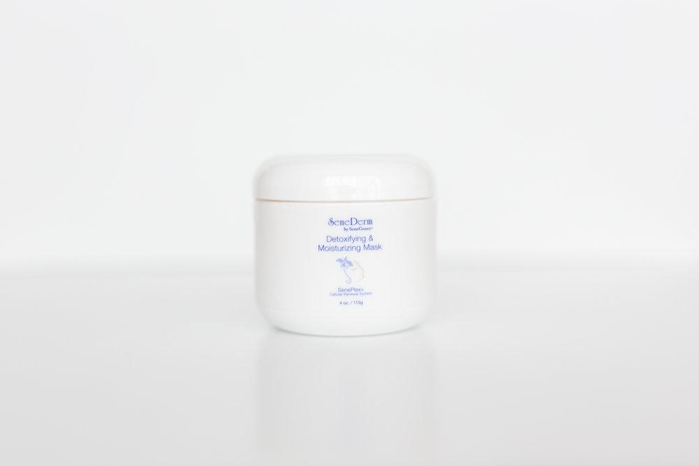 Detoxifying & moisturizing mask - with SenePlex