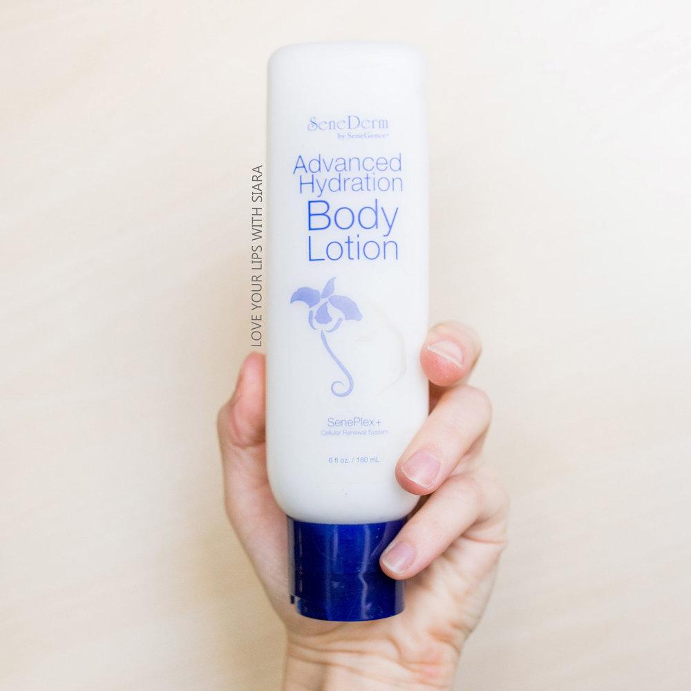 Advanced hydration body lotion - with SenePlex+