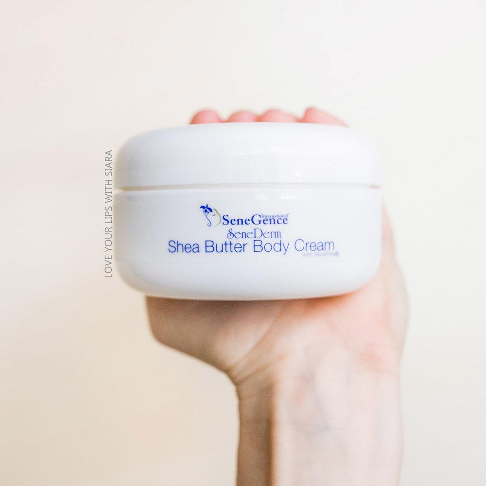 Shea butter body cream - with SenePlex