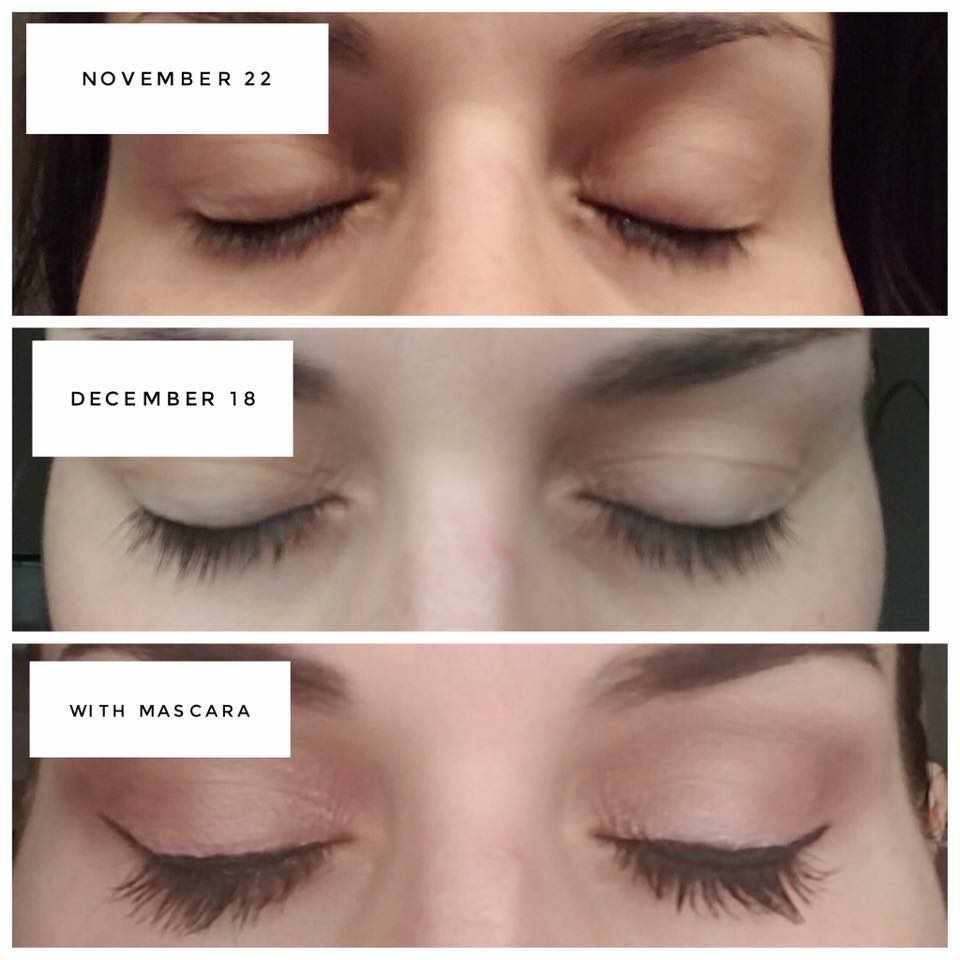 SeneGence LashExtend Before and After