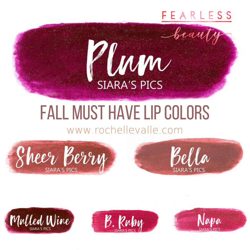 fall must have lip colors