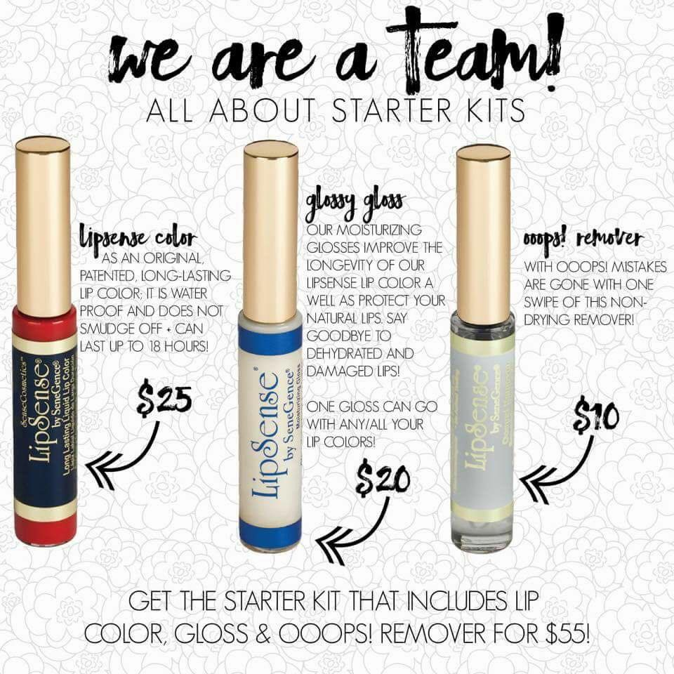 Copy of Copy of Copy of Copy of Copy of LipSense Collection by SeneGence
