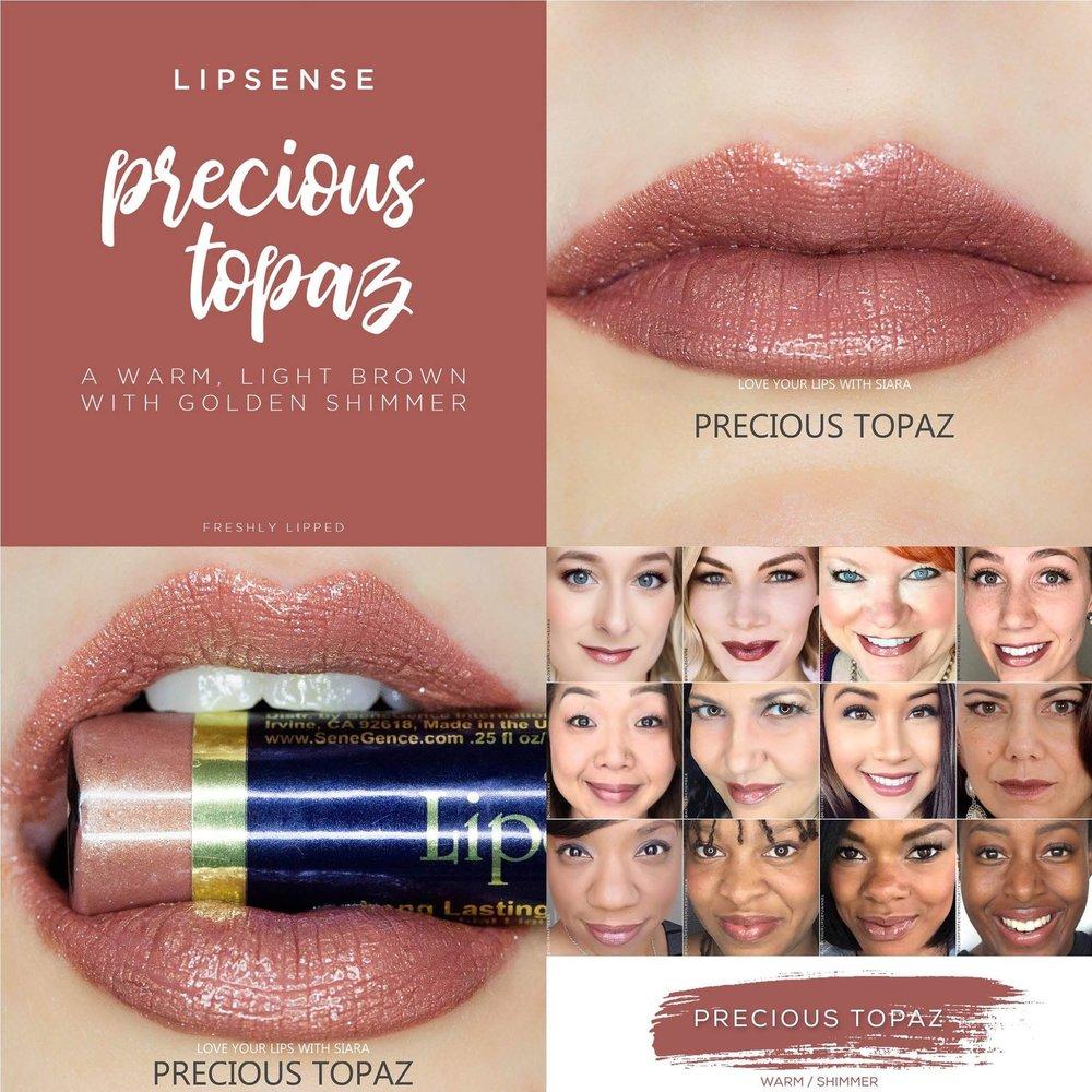 Precious Topaz Collage
