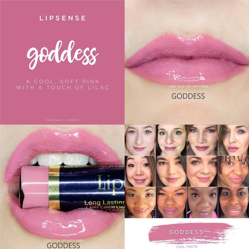 Goddess LipSense Collage