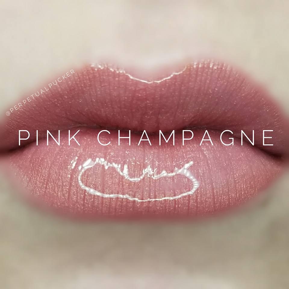 Pink Champagne LipSense Glossy Gloss