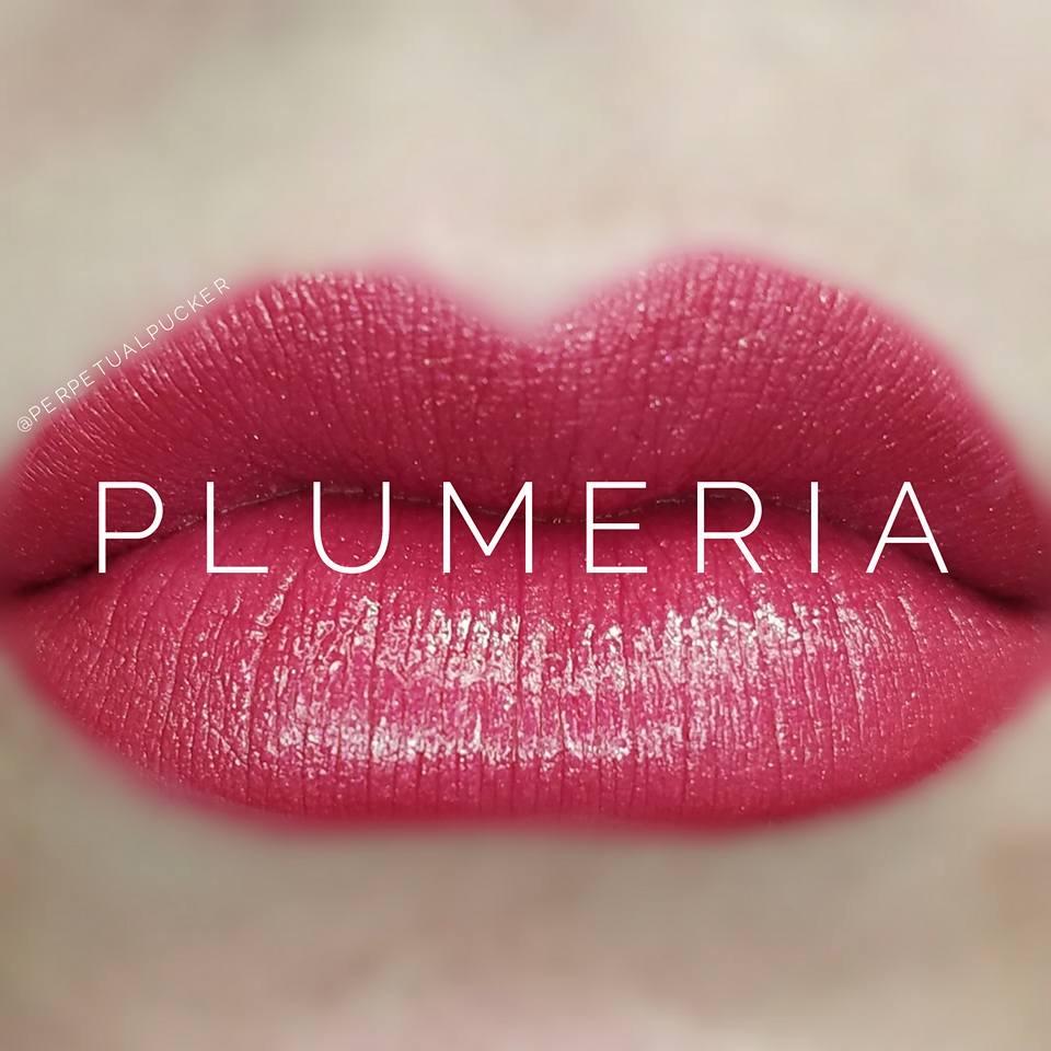 Plumeria LipSense Matte Gloss