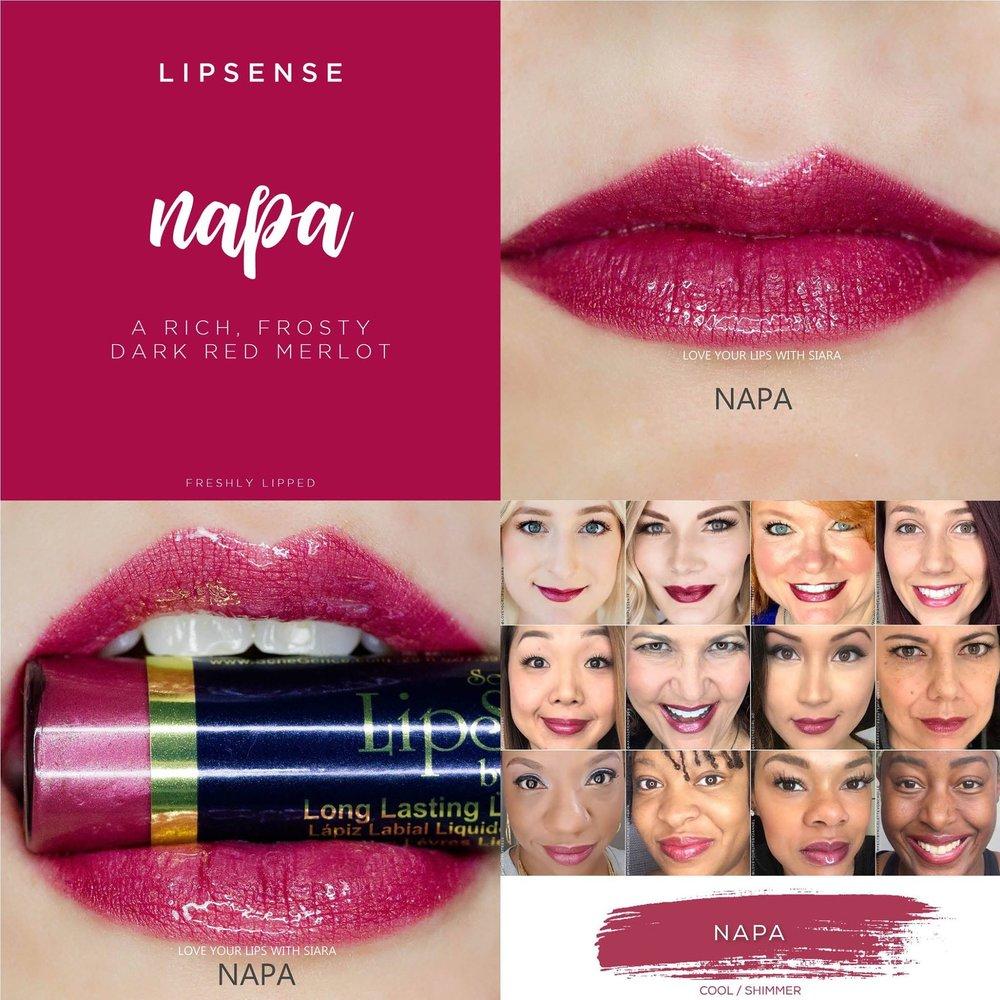 Napa LipSense Collage