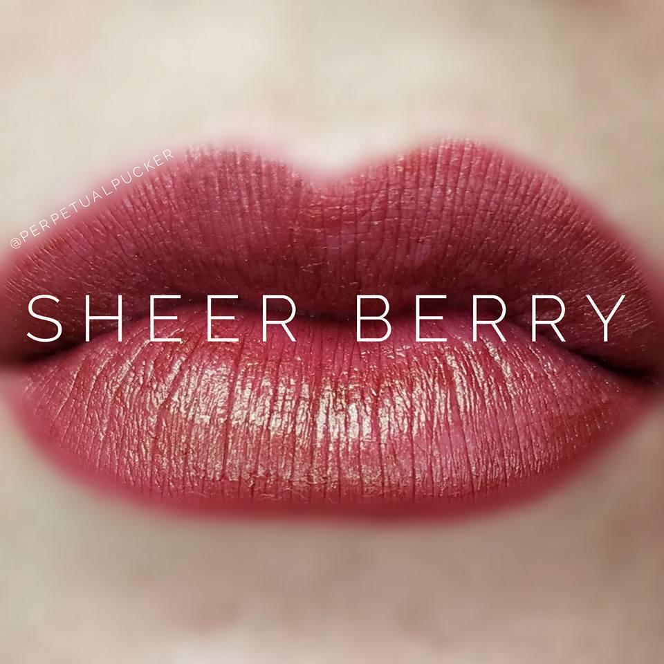 Sheer Berry LipSense Matte Gloss