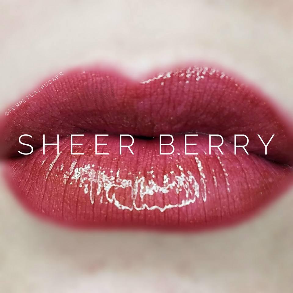 Sheer Berry LipSense Glossy Gloss