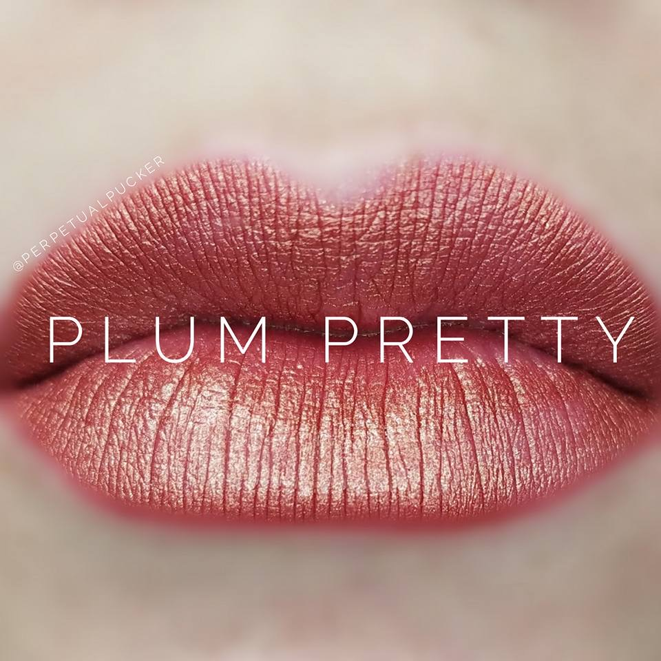 Plum Pretty LipSense Matte Gloss