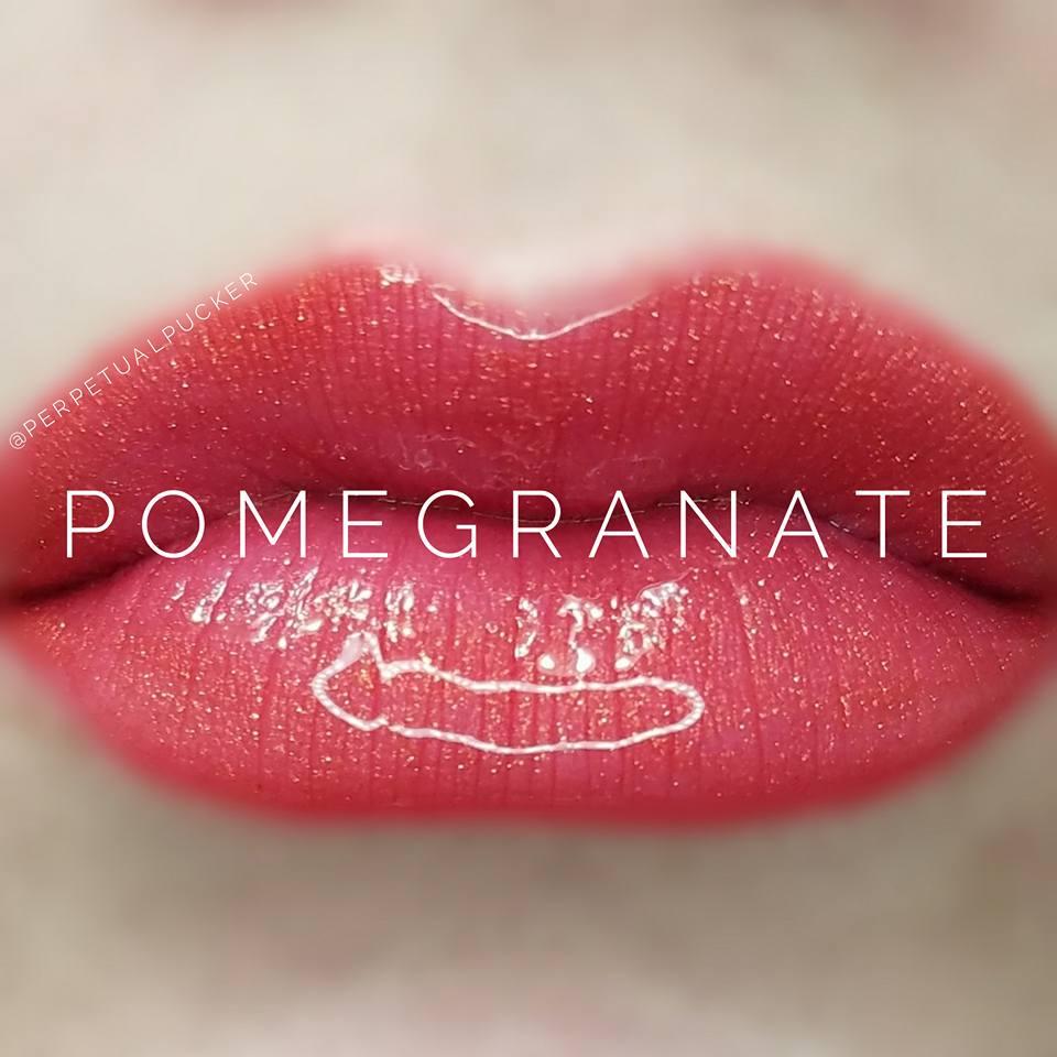 Pomegrante LipSense Glossy Gloss
