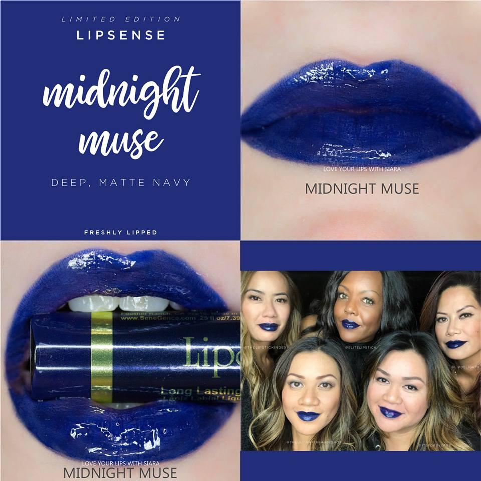 Midnight Muse LipSense Collage