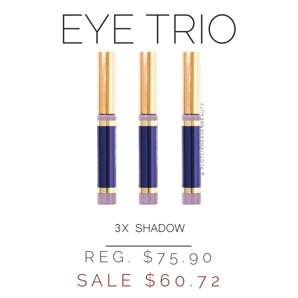SeneGence ShadowSense Eye Trio Gift Set