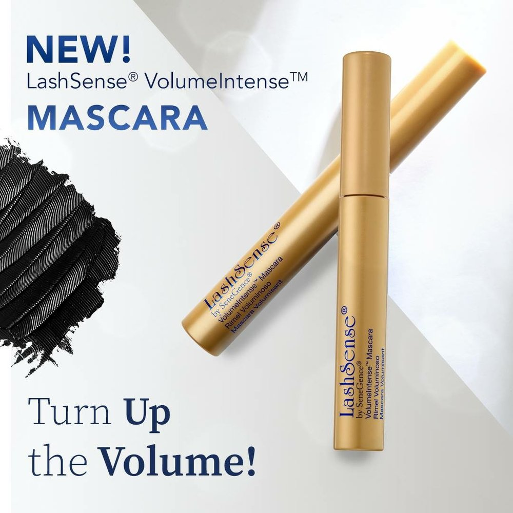 New LashSense VolumeIntense Mascara