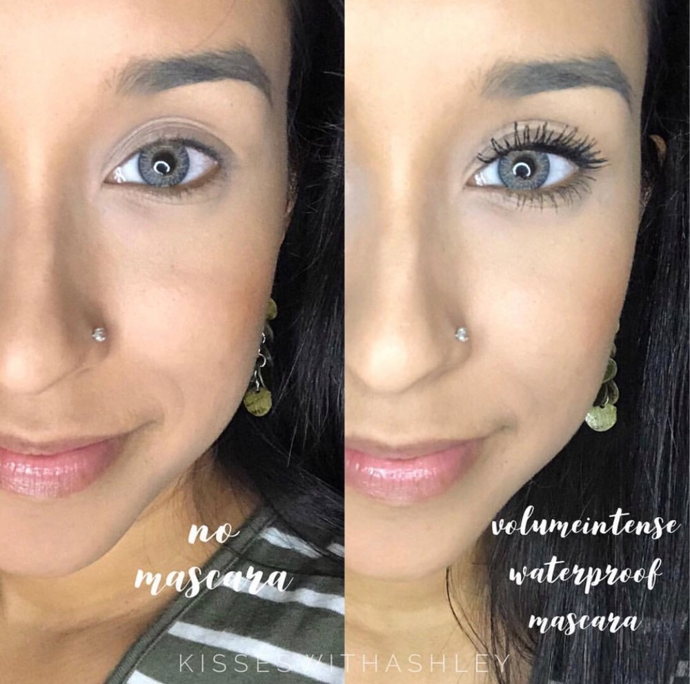 LashSense VolumeIntense Mascara Before and Afters