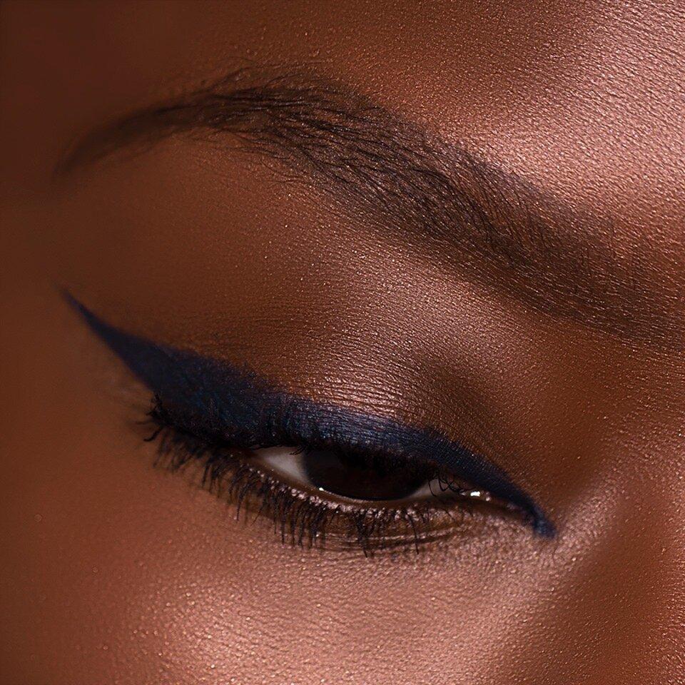 navy eyesense eye liner pencil fearless beauty by rochelle valle
