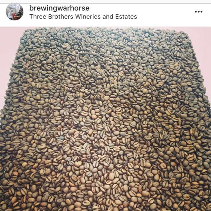 We source as many ingredients as we can locally. For example our coffee beans for the Breakfast with Churchill Oatmeal Stout come from  Glen Edith Coffee Roasters in  Rochester, NY