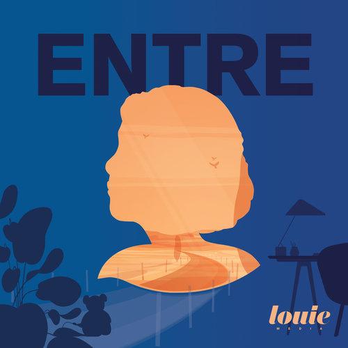 Entre    Entre est le nouveau podcast de Charlotte Pudlowski, produit par Louie Média. Justine entre en 6ème ; toutes les semaines, elle raconte sa sortie de l'enfance, le collège, sa vie. C'est beau et touchant. Et ça rappelle combien le collège c'était l'enfer.