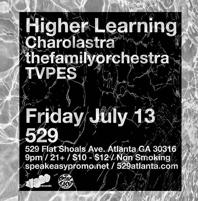 ATLANTA!! One week till we pop it off at 529! @charolastrador ,@tvpes and @thefamilyorchestra will be getting things heated up for this Friday the 13th 💀🔥