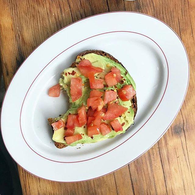 Avocado toast. A nanny's best friend.
