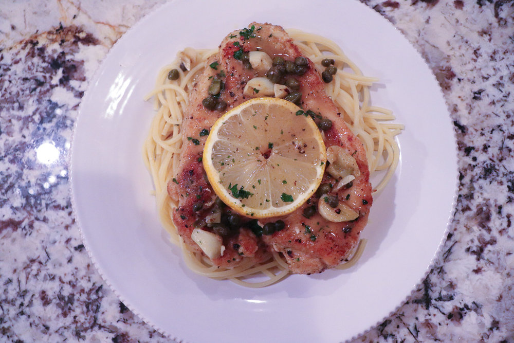 GoingGosnell.AtlantaBlogger.ChickenPiccata.Serve.jpg