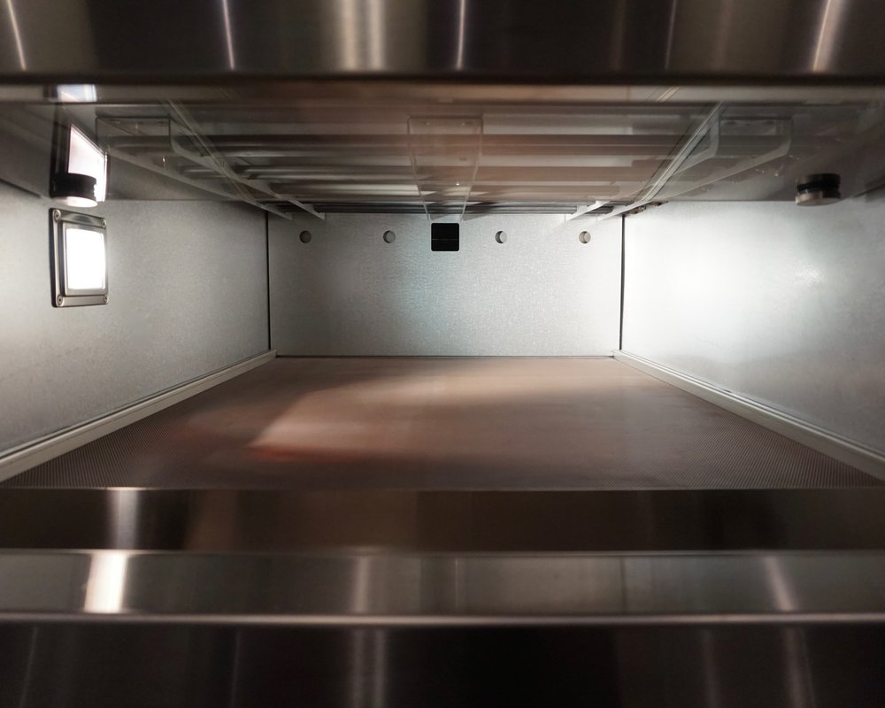 Miwe deck oven in kitchen studio