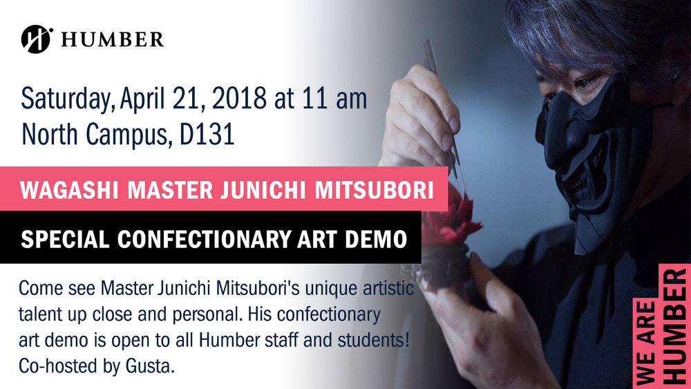 Junichi Mitsubori at Humber College in Toronto