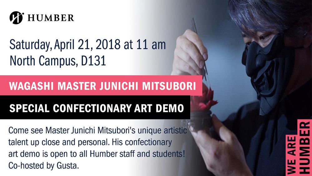 Junichi Mitsubori at Humber College in Toronto