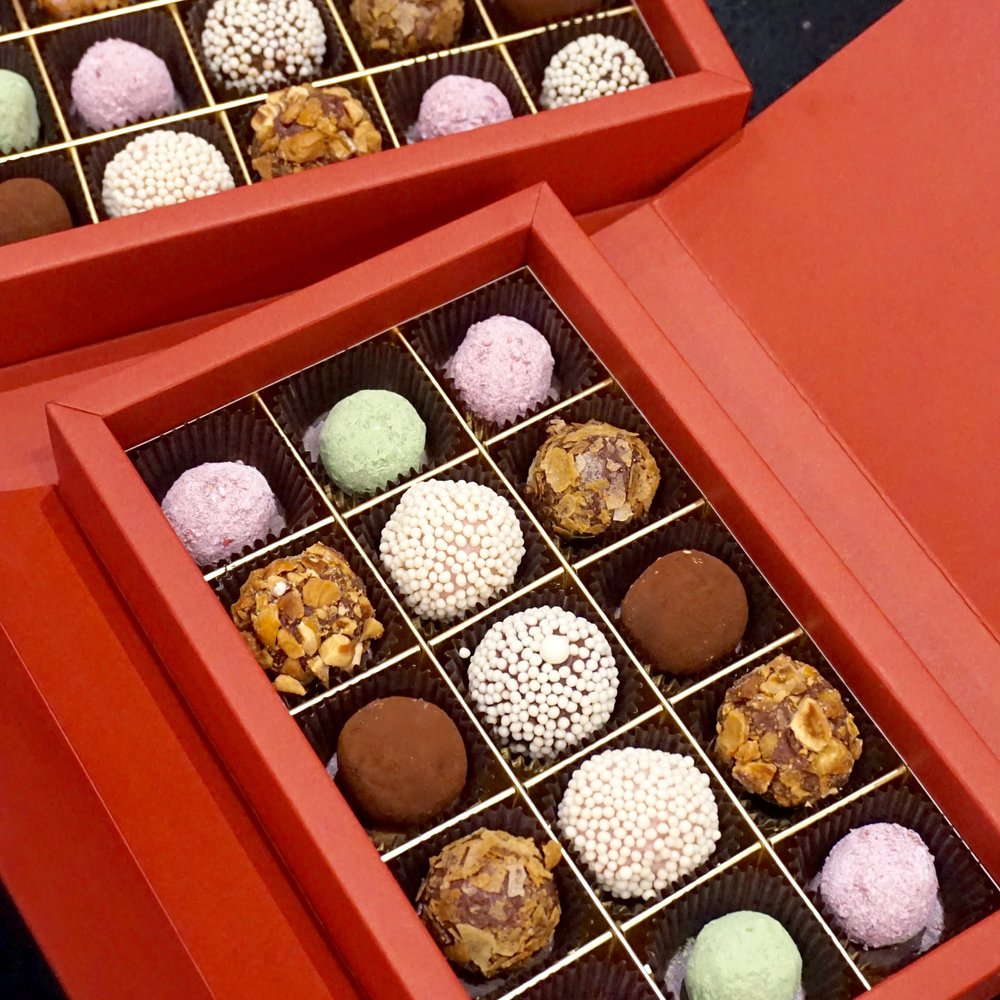 Fruit & Liquor Chocolate Truffles
