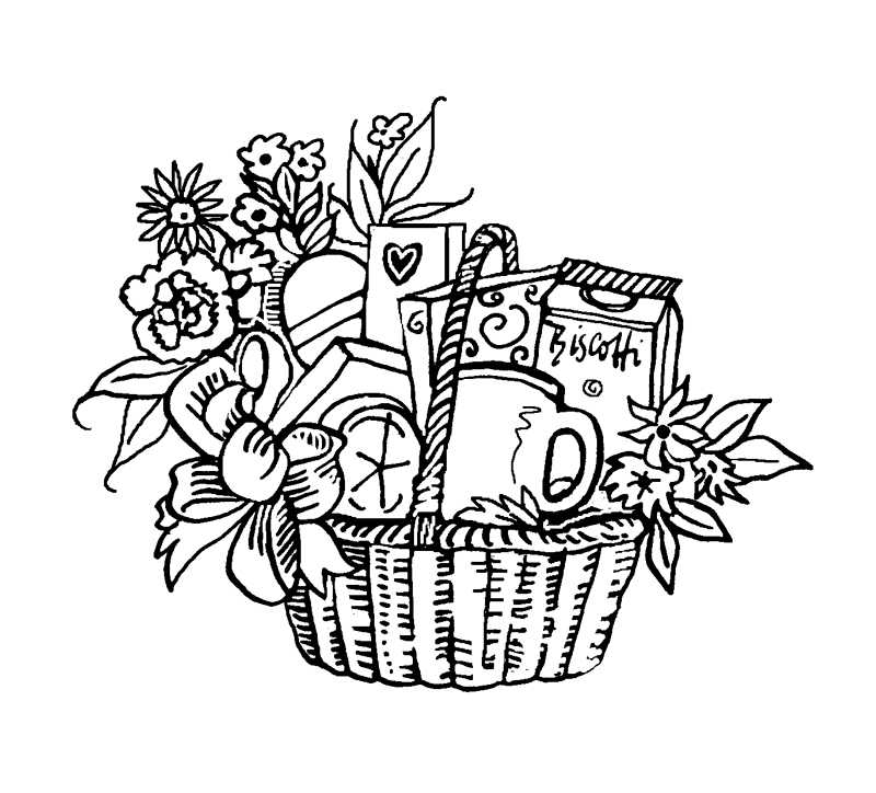 Basket drawing
