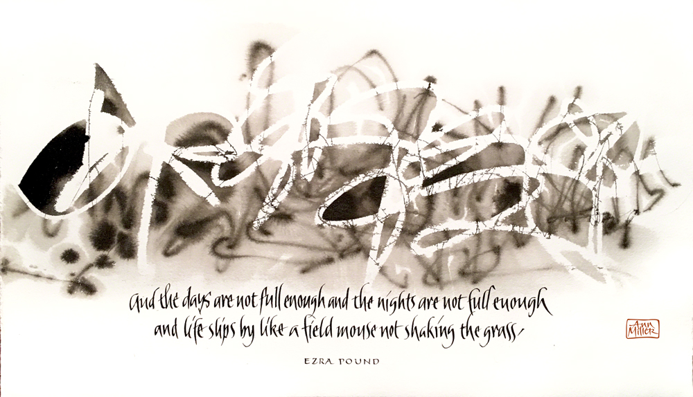 Ezra Pound Drawing