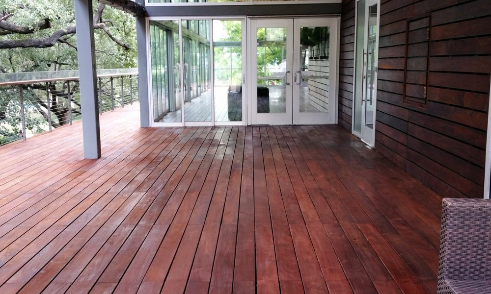 After sealing with CaraPro® Wood Stain/Sealer