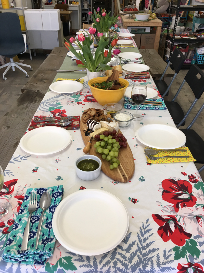 Community Dinner June 5, 2017