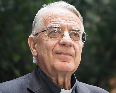 Fr. Federico Lombardi s.i.  Former head of the Vatican Press Office, former papal spokesman, and President, Joseph Ratzinger-Benedict XVI Vatican Foundation