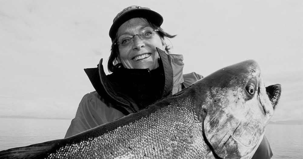 lady huge salmon black and white.jpg