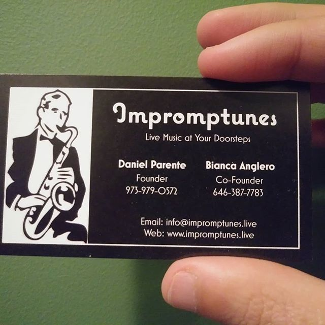 New Business Cards Livemusic Livemusicians Jazz Classical Blues Funk
