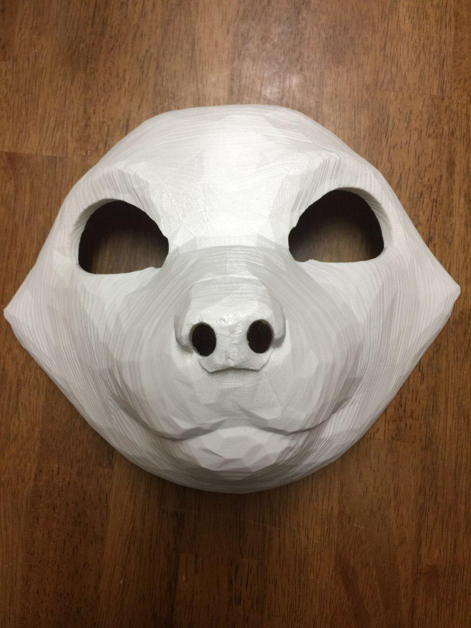Completed Nova Nocturne Mask Print!