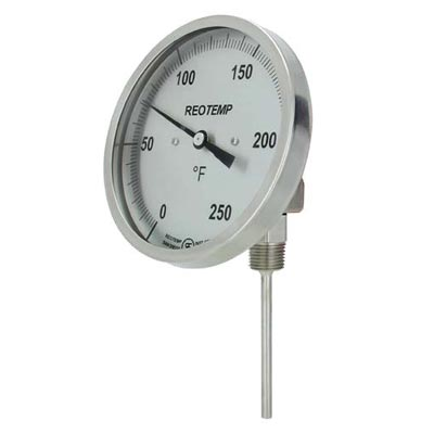 Adjustable Angle Bimetal Thermometer (PDF) -