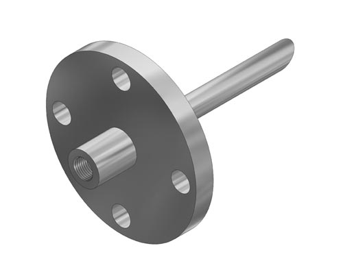 "Flanged Straight 0.260"" Bore Quill Model F227 (PDF) -"