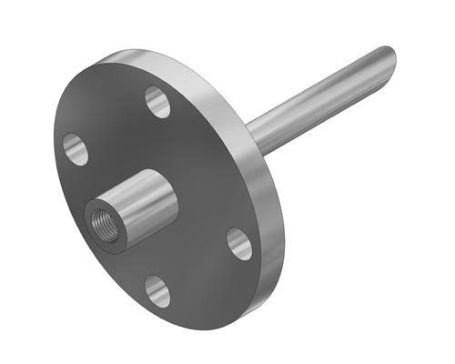 "Flanged Straight 0.385"" Bore Quill Model F327 (PDF) -"