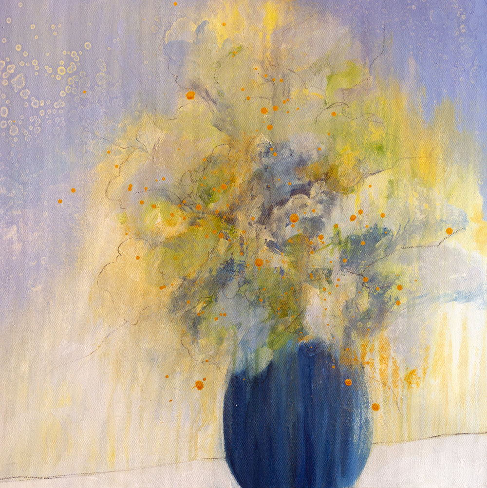 """Sunshine in a Vase"" 20x20"