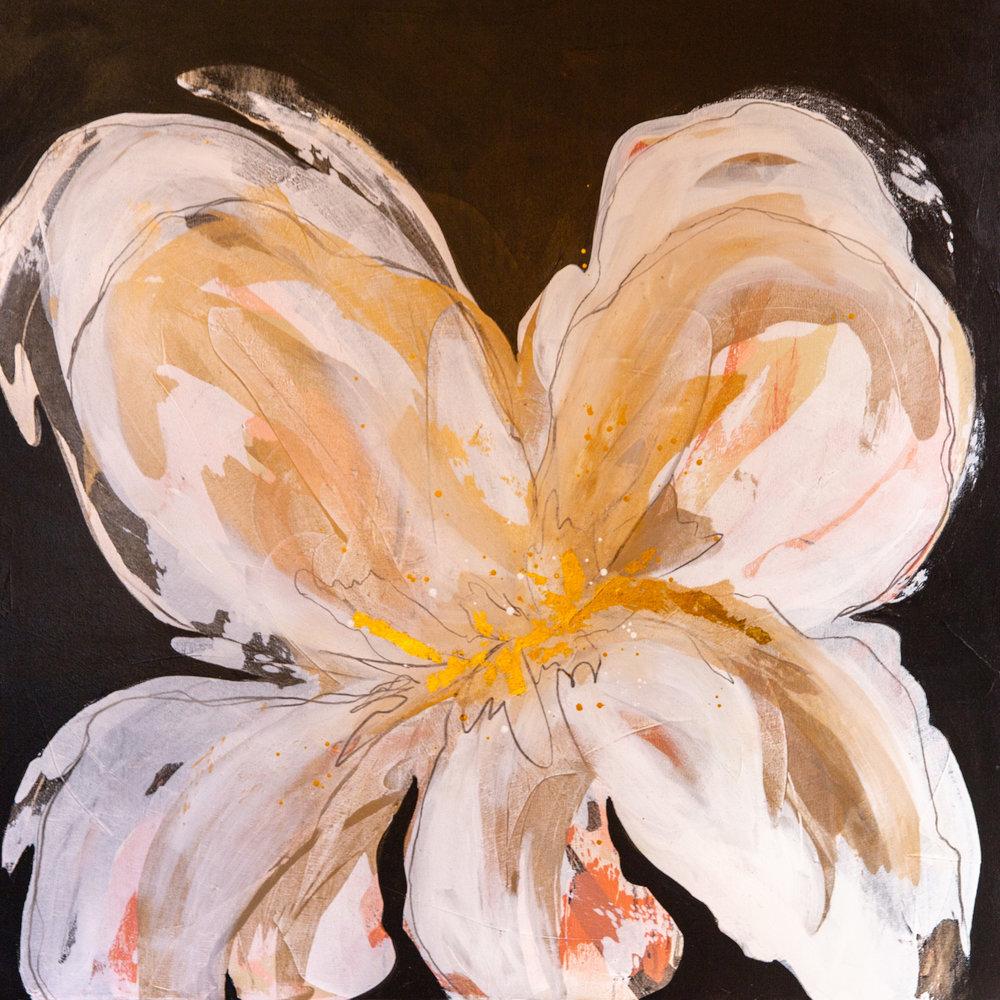 """Big Bloom I"" 36x36"