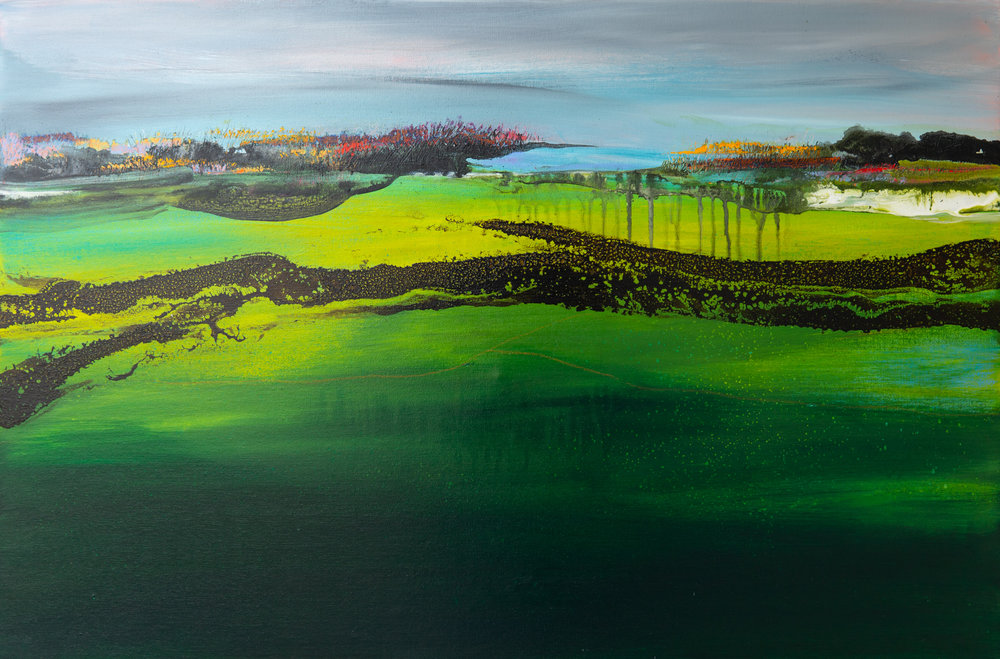 """""""After the Rain"""" 36x24"""